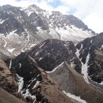 Falunge Pass seen from Dhorpatan valley on North Nepal's Dhorpatan Trek with Gurja Khani 10 days package