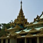 A Myanmar Buddhist Monastery- Day tour in lumbini,birth place of Buddha.
