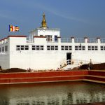 Maya Devi temple Lumbini. Nepal as seen in Lumbini Tour