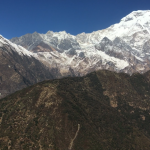 Aerial view of Mt.Annapurna