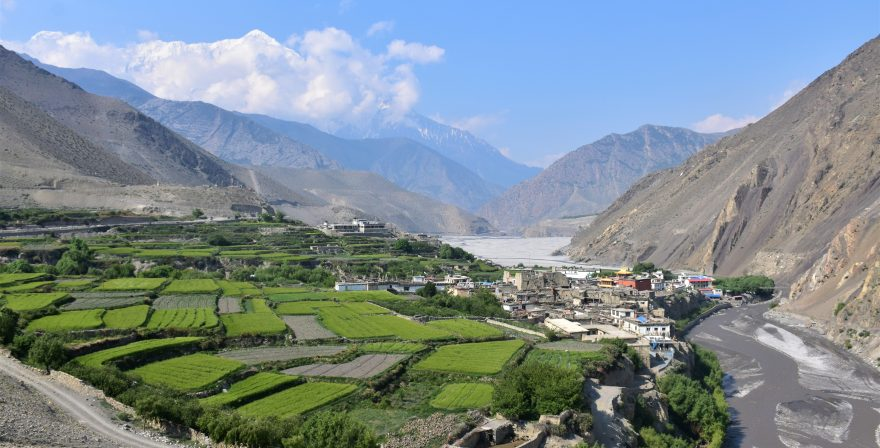 Lo Manthang valley during Upper Mustang Trek, North Nepal Travels and Tours