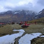 pilgrims tour to muktinath by R66 Model Helicopter-Jomsom Muktinath Heli Tour.