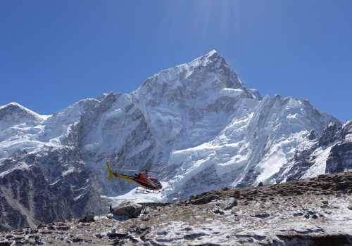 Rescue on everest region